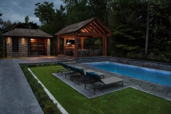 Fiberglass Pool Photo  Gallery - Yorkstone Pools & Landscapes