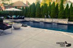 Vinyl Pool Photo  Gallery - Yorkstone Pools & Landscapes