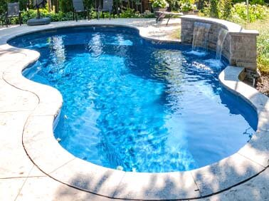 Fiberglass Pools Photo Gallery - Yorkstone Pools & Landscaping