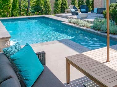 Vinyl Pools Photo Gallery | Yorkstone Pools & Landscaping