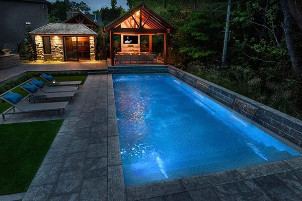 Pool After - Yorkstone Pools & Landscapes